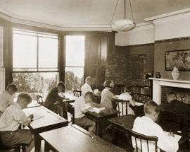 Classroom in the 1930's